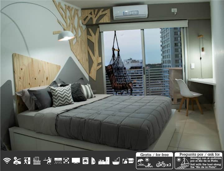 Hermoso apartamento en Palermo Hollywood c/cochera