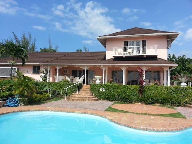 Beautiful Jamaican Villa /  Full Staff Included
