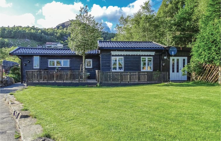 Holiday cottage with 2 bedrooms on 55 m² in Bjerkreim