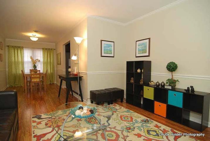 Charming and quiet 2 bedroom near downtown