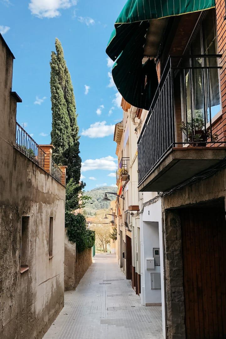 Walk through the narrow streets