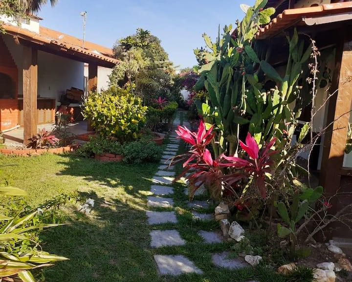 Casa com Piscina e Churrasqueira - Peró, Cabo Frio
