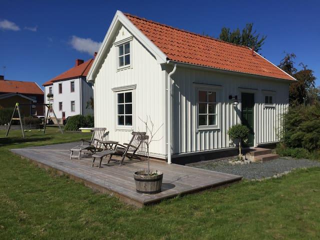 Centralt gårdshus, Lidköping - Lidköping - Hus