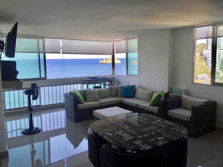 Apartamento master deluxe, vista al mar