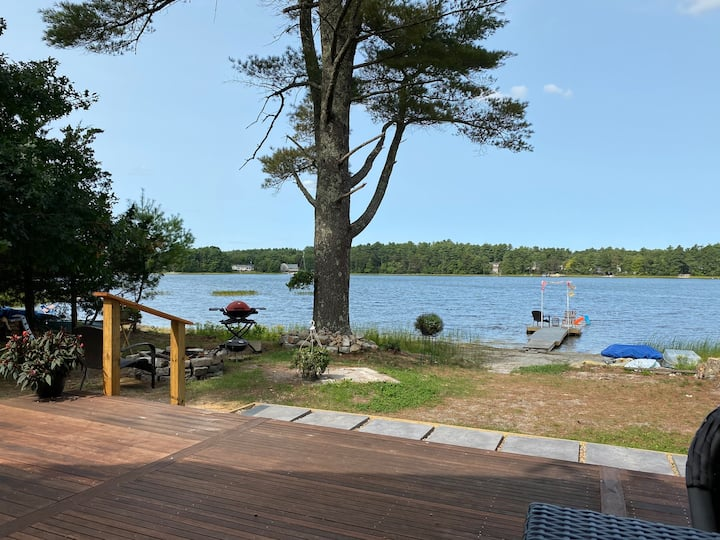 Onset beach, Cape code.Private Waterfront  cottage