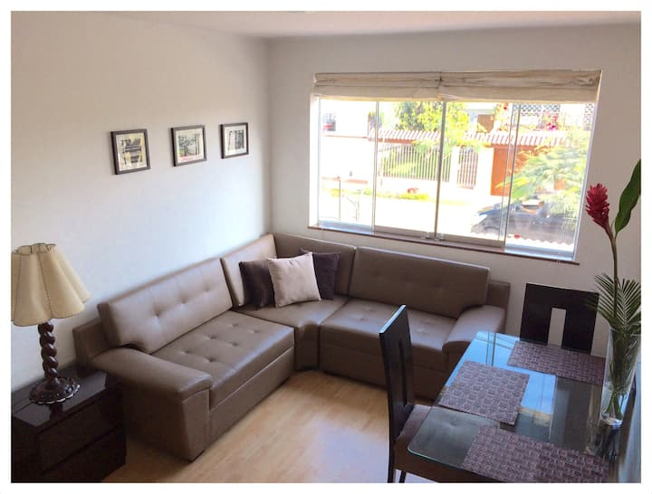 Cozy two floor and two bedroom apartment