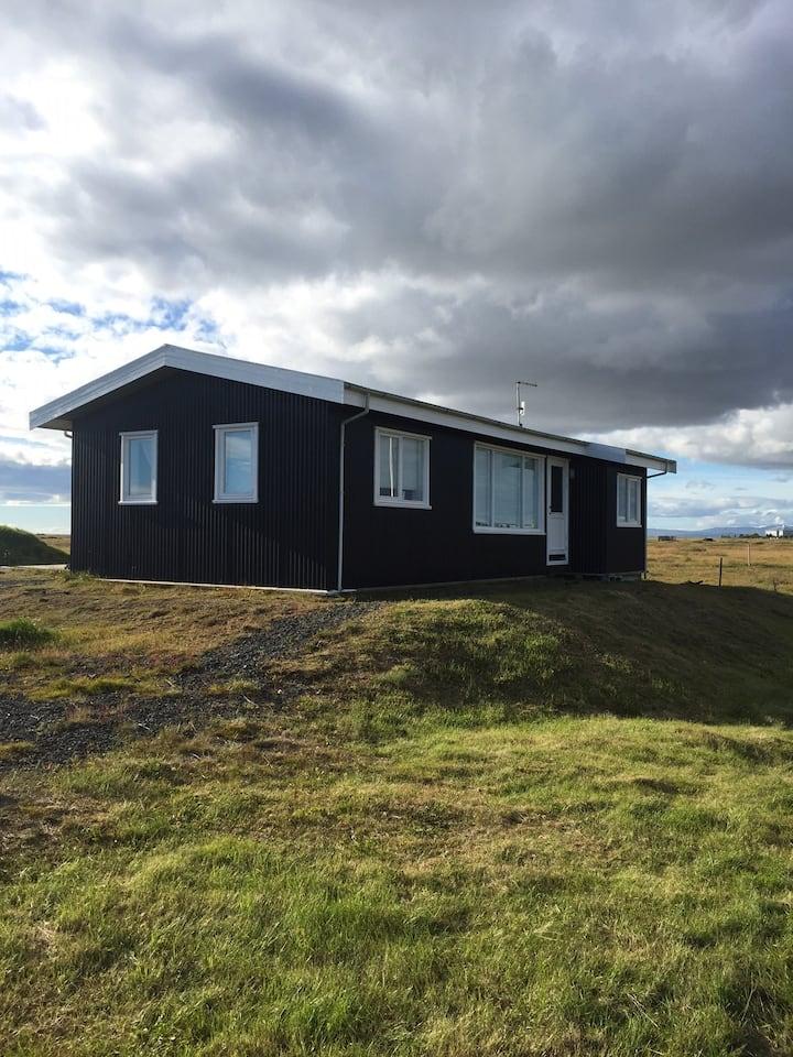 Brim house near the Atlantic ocean