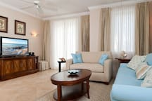 The Living Room of Unit 501 Villa Renaissance