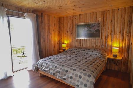 Habitación-Cabaña Incluye Desayuno con Baño Privad