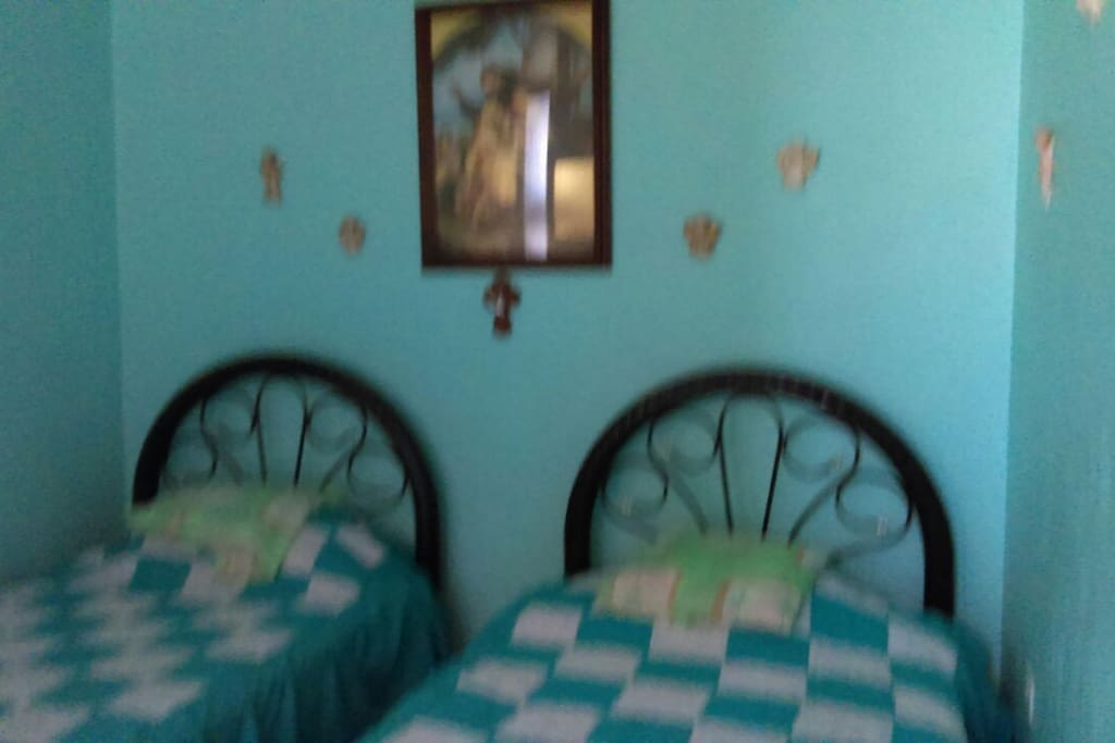 Private Bedroom 2: two twin beds, shared 3/4 bath on second level. Sleeps 2