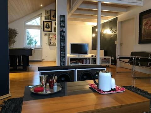 Studiowohnung, nähe Heilbronn, idyllische Lage