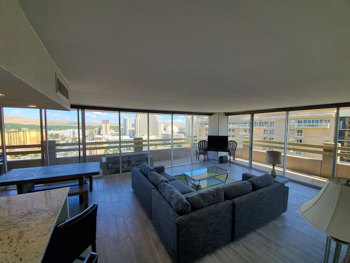 Reno: live local in a remodeled 16th floor condo