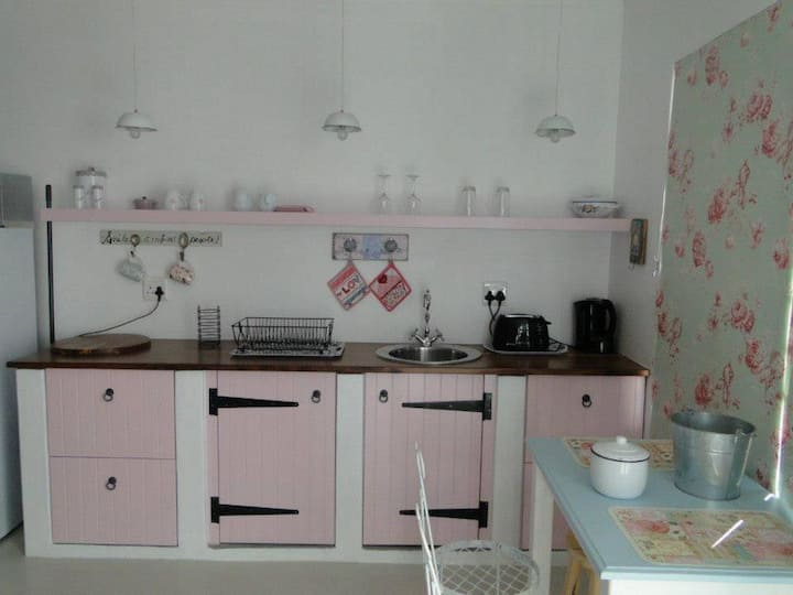 PINK Sandals Self Catering. Tranquility!