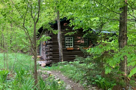 Camp Moonstruck- Little Cabin in the Big Woods