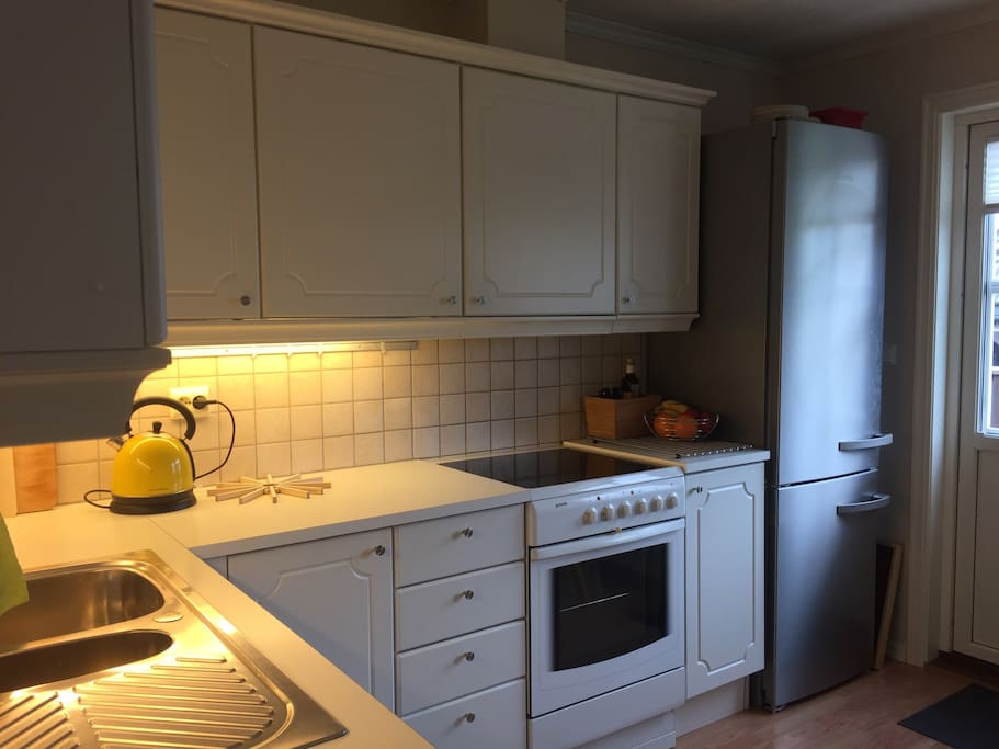 Kitchen available for use