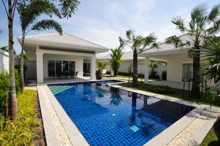 Luxury 3 bed pool villa Hua Hin