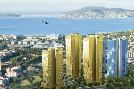 DENİZ VE ADALAR MANZARALI DAİRELER - maltepe
