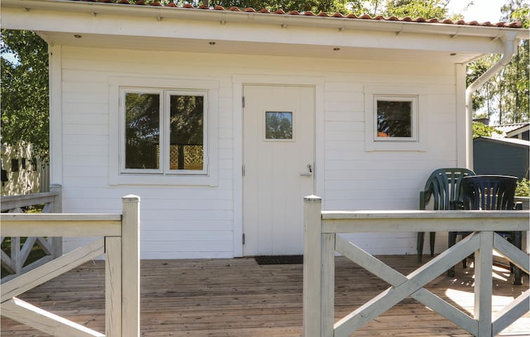 Holiday cottage with 1 room on 15m² in Sölvesborg