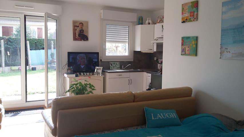 Studio près Disneyland/Aéroport Charles de Gaulle - Monthyon - Apartamento
