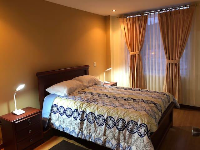 Dormitorio master para dos personas