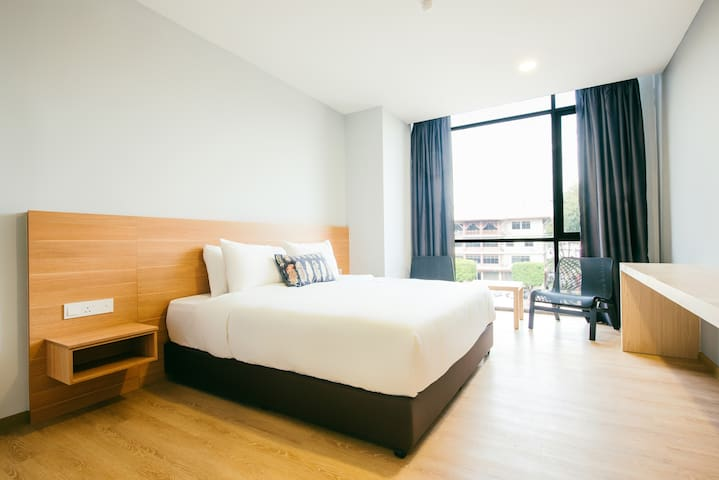 [Sea View]@Family room for 4pax_CSL