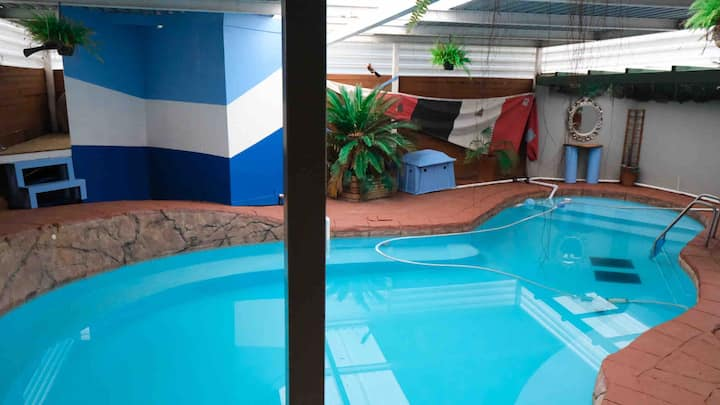 Spacious first floor studio &  jacuzzi pool access