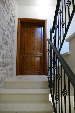 The apartment entrance
