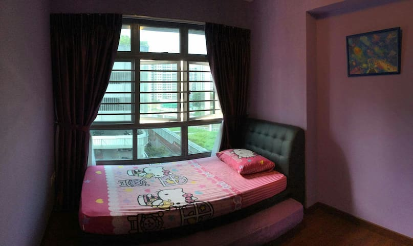 Private room - Twin single bed room
