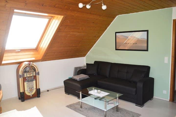 Ferienwohnung Sonnenblick, (Albstadt), Ferienwohnung, 60qm, Balkon, 3 Schlafzimmer, max. 6 Personen