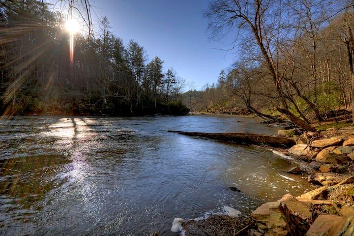 Ellijay's Roaring River