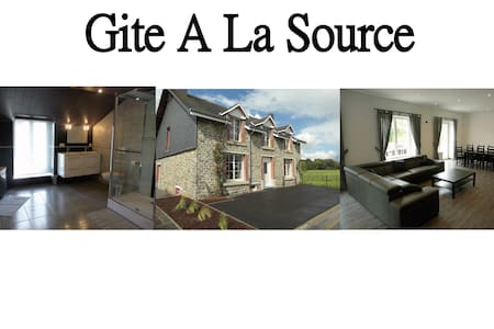 A La Source - Gite Rural - 3 épis