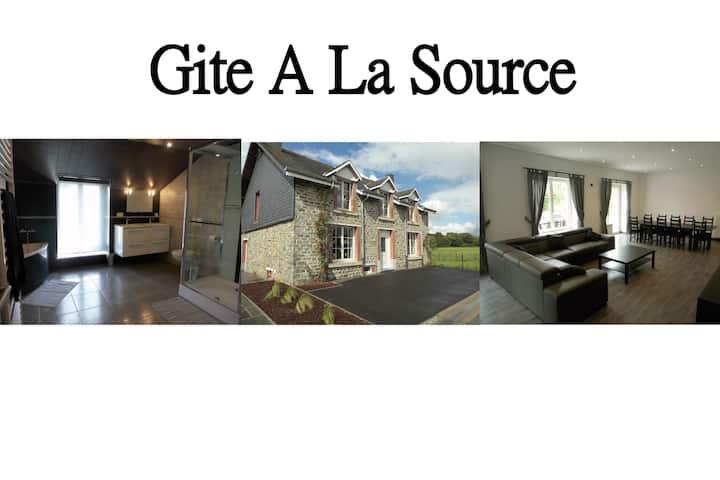 A La Source - Gite Rural - 3 épis