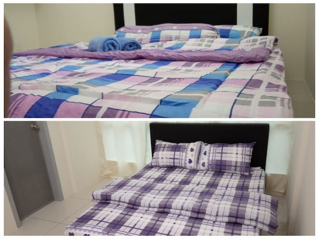 COZY TWO DOUBLE BED ROOM WITH GYM, JACUZZI