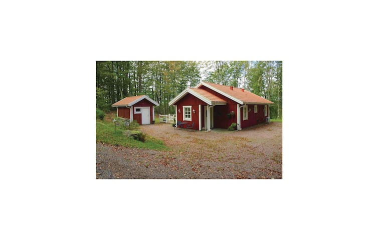 Holiday cottage with 3 bedrooms on 83m² in Åsljunga