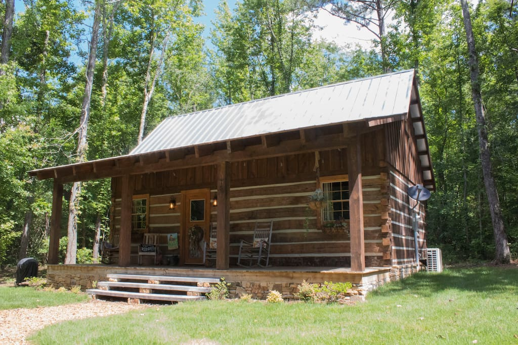 The Oakley House Log Cabin Cottages For Rent In