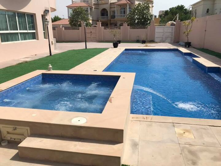 Master Bedroom in a Luxury villa with huge pool 1