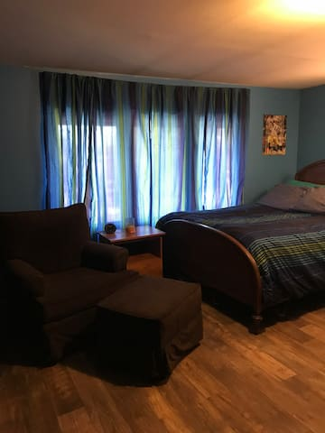 Large and sunny bedroom located in Brookfield