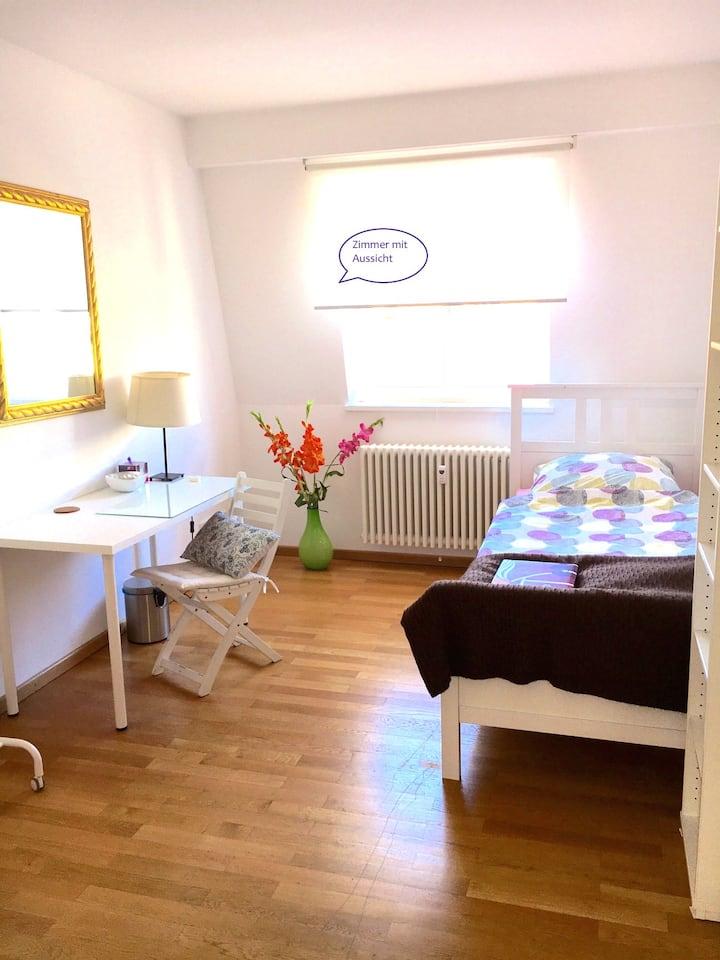 Zimmer mit eigenem Bad in Luxusloft /Maxvorstadt