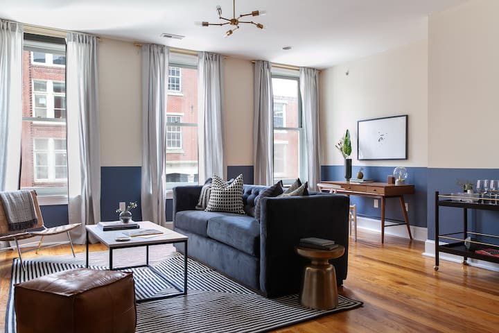 Domio I Old City I Warm 1 BR near the Liberty Bell