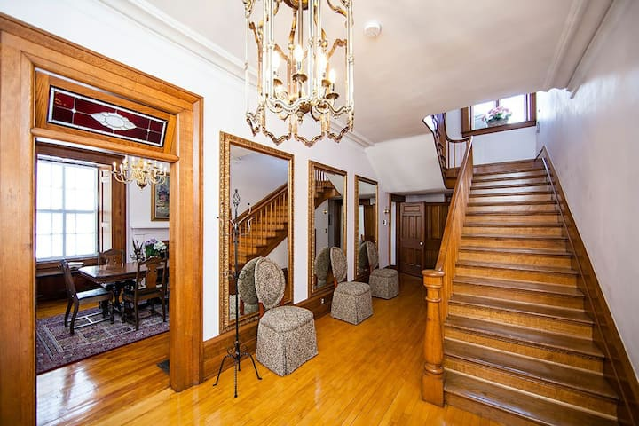 Main foyer with staircase to second floor