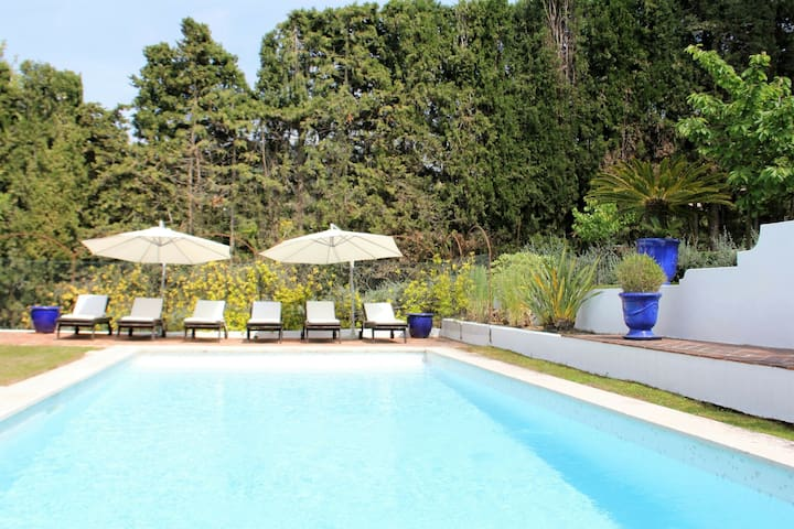 Ritzy Villa with a View of Alps and Heated Pool in Nic