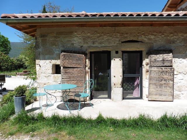 Chambre et salle de bain privée - Saint-Jean-en-Royans - Wikt i opierunek