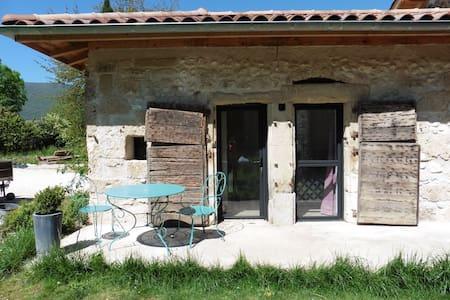 Chambre et salle de bain privée - Saint-Jean-en-Royans - B&B