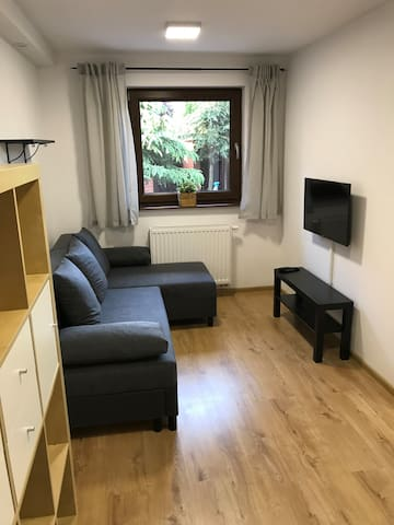 Nice apartment with small garden