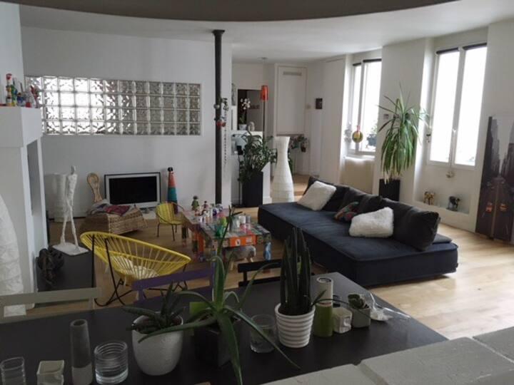 Bel appartement centre Paris, calme et spacieux