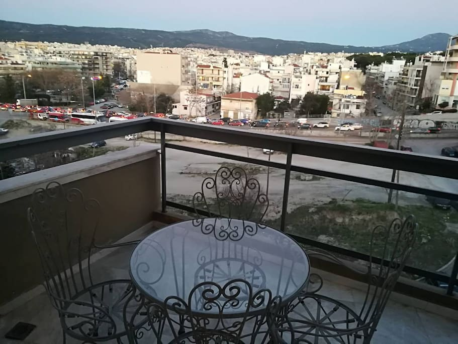 Main balcony with great view