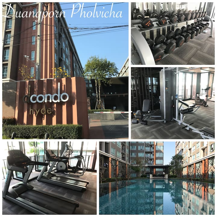 D_Condo Hyde Chiang Rai Luxury close to town A