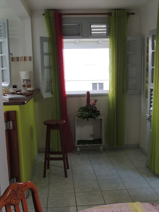 Entrée cuisine/séjour