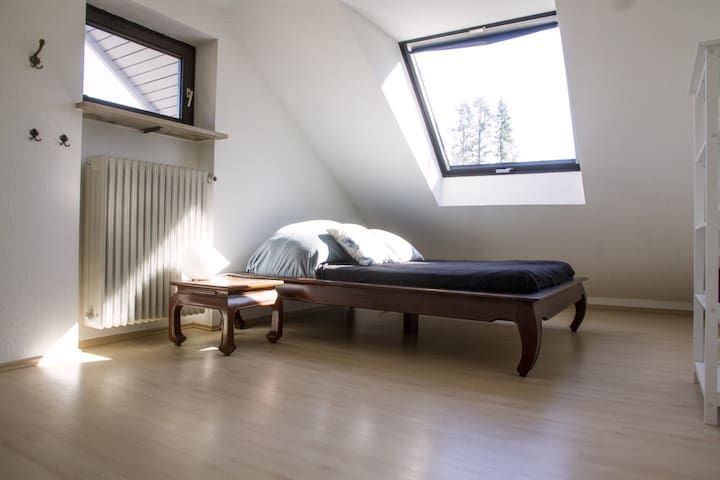 Bright room with separate bathroom - Munich - Hus