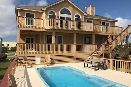 ABOUT TIME - Oceanside 6 BR sleeps 15 in Corolla